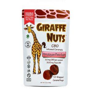 Giraffe Nuts CBD Creamy Caramels