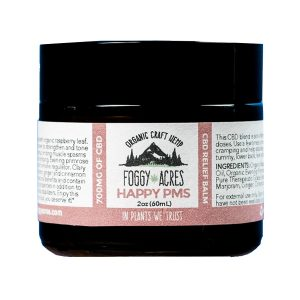 Foggy Acres - Happy PMS Full Spectrum Relief balm 500mg