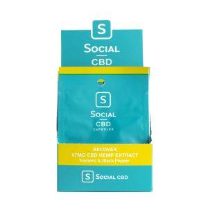 Social CBD Capsule Packs to Go